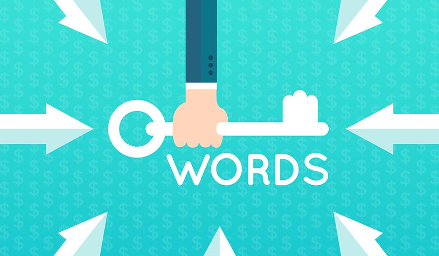 تأثیر کلمات کلیدی در سئو