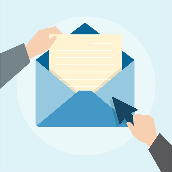 ایمیل به عنوان محل انتشار محتوا