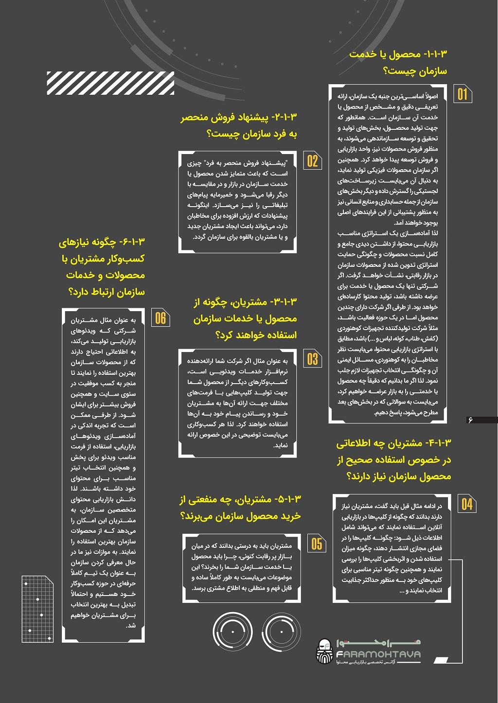 صفحه ششم کتاب الکترونیکی 8 گام در اجرای بازاریابی محتوا